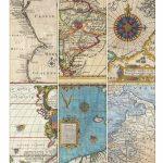 Printable Vintage Map Tags | Call Me Victorian   Free Printable Maps