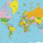 Printable World Map Free | Sitedesignco   Free Printable World Map