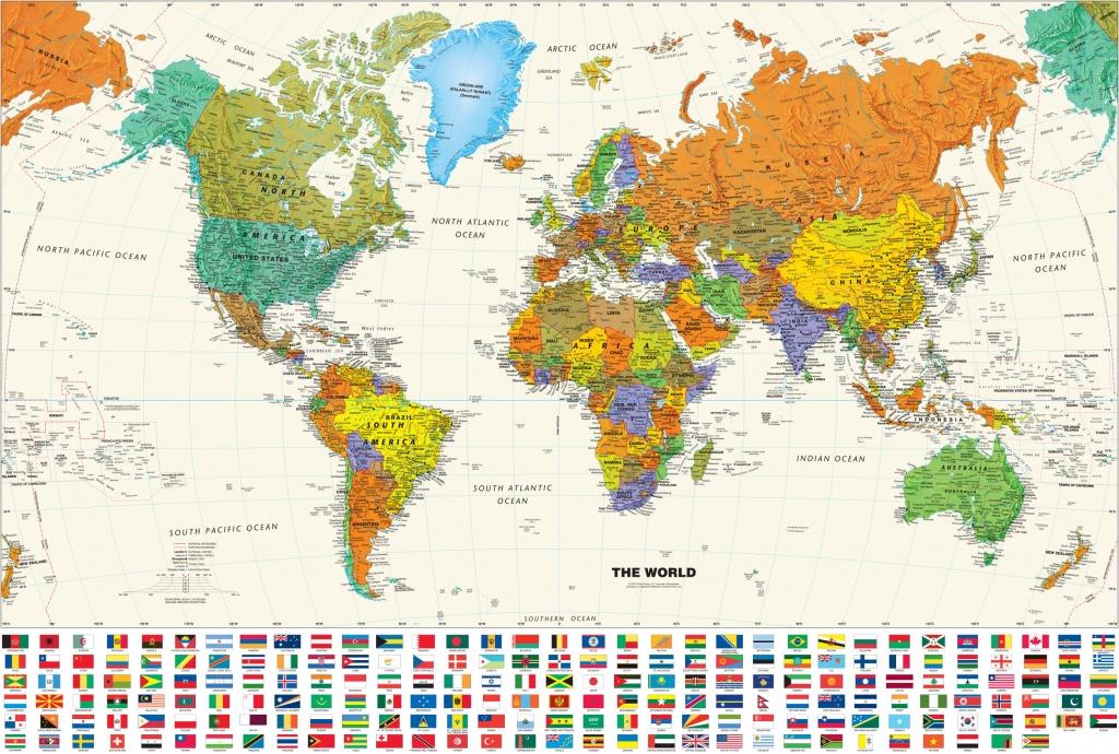 Printable World Map Poster - Iloveuforever - Free Printable Large World Map Poster