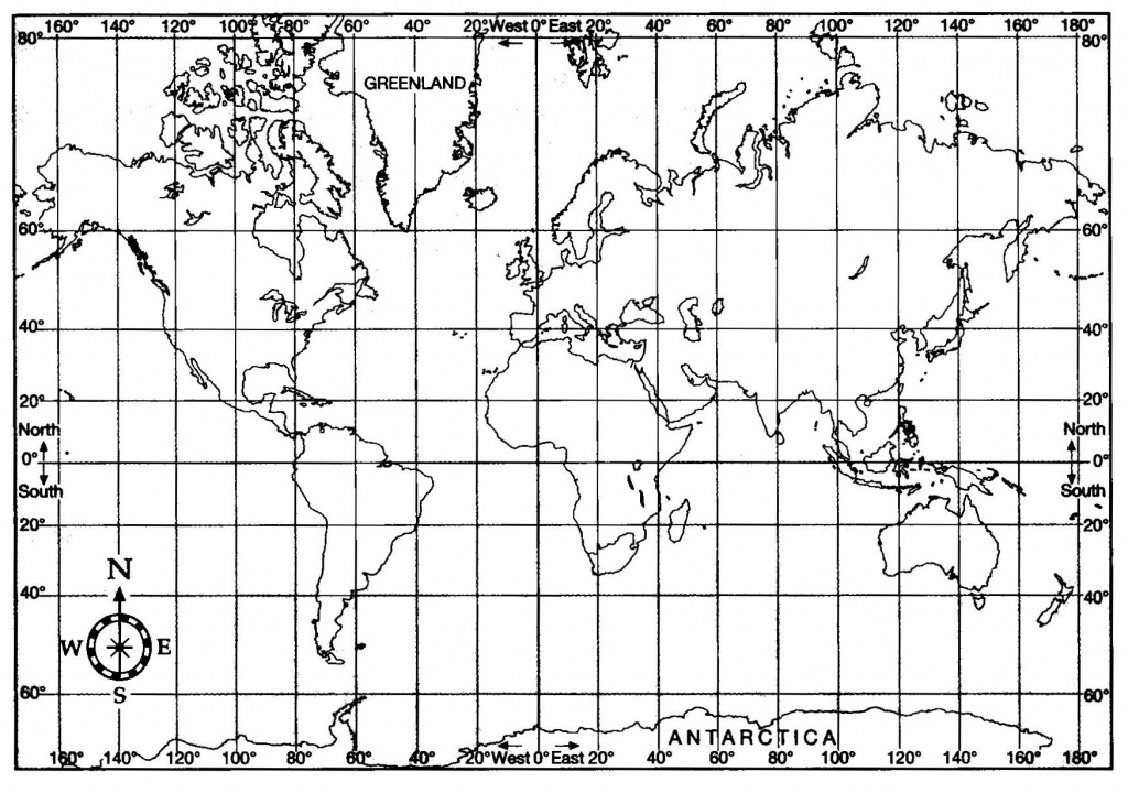 Printable World Map With Latitude And Longitude Pdf | Woestenhoeve - Printable World Map With Latitude And Longitude