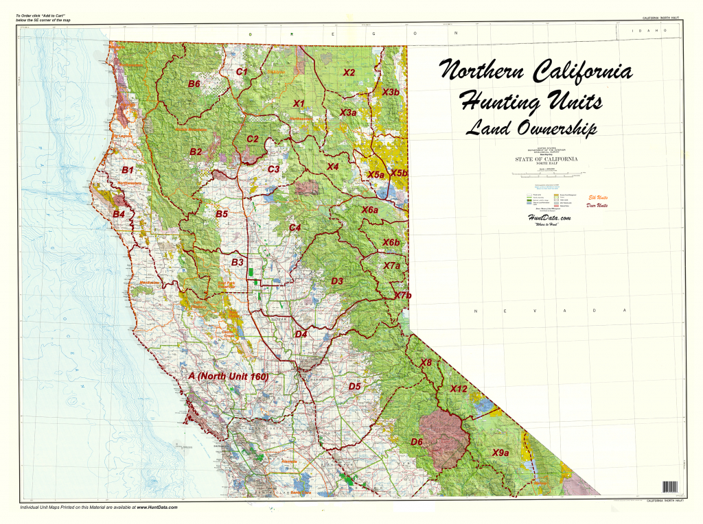 Product Detail - California Land Ownership Map