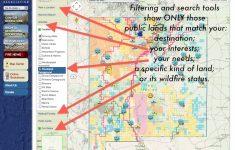 Publiclands   Montana   California Blm Shooting Map