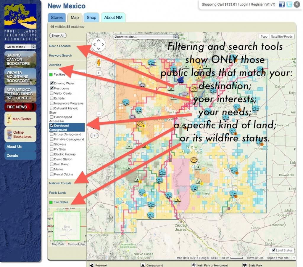 Publiclands | Montana - California Blm Shooting Map