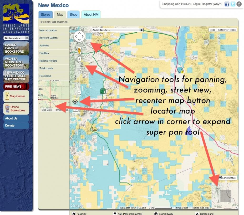 Publiclands   Nevada - Blm Land Map California