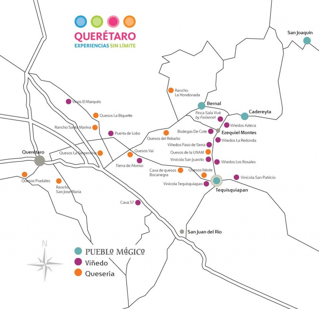 Querétaro: Mexico's Second Largest Wine Region | Texas Wine Lover - North Texas Wine Trail Map