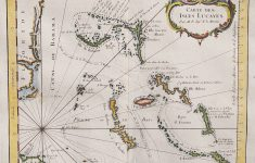 Rare Map Of The Bahamas And East Coast Of Florida || Michael   Jennings Florida Map