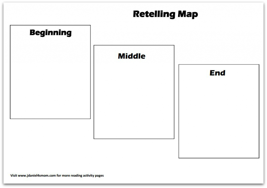 Reading Comprehension- This Mouse Needs A House - Printable Story Map For Kindergarten