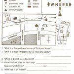 Reading Maps Worksheet Free Worksheets Library Download And   Map Skills Quiz Printable