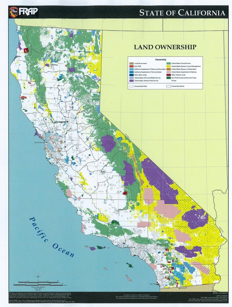 Recess And Recreation | Loggersdaughter - California Land Ownership Map