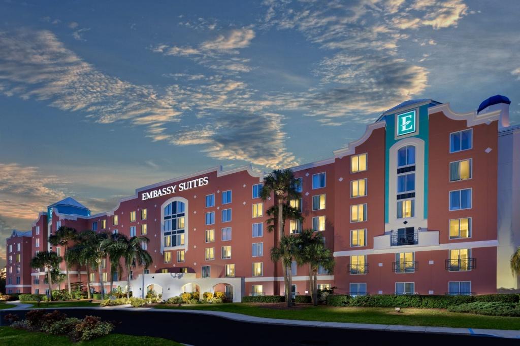 Resort Embassy Suiteshilton Orlando Lake Buena Vista Resort - Embassy Suites Florida Locations Map