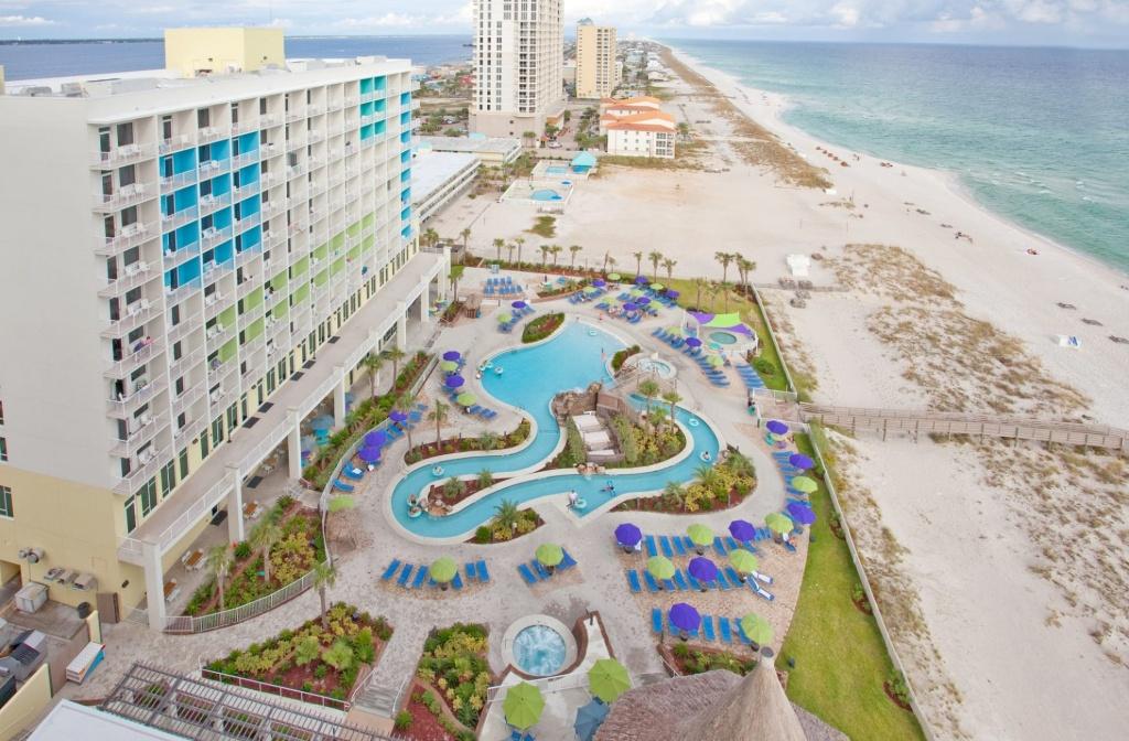 Resort Holiday Inn Resort Pensacola Beach Gulf Front, Pensacola - Map Of Hotels In Pensacola Florida