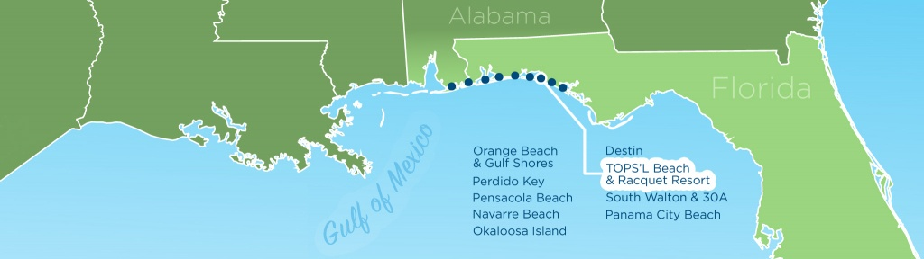 Resortquest Real Estate | Nw Fl & Al Gulf Coast Condos And Homes For - Gulf Shores Florida Map