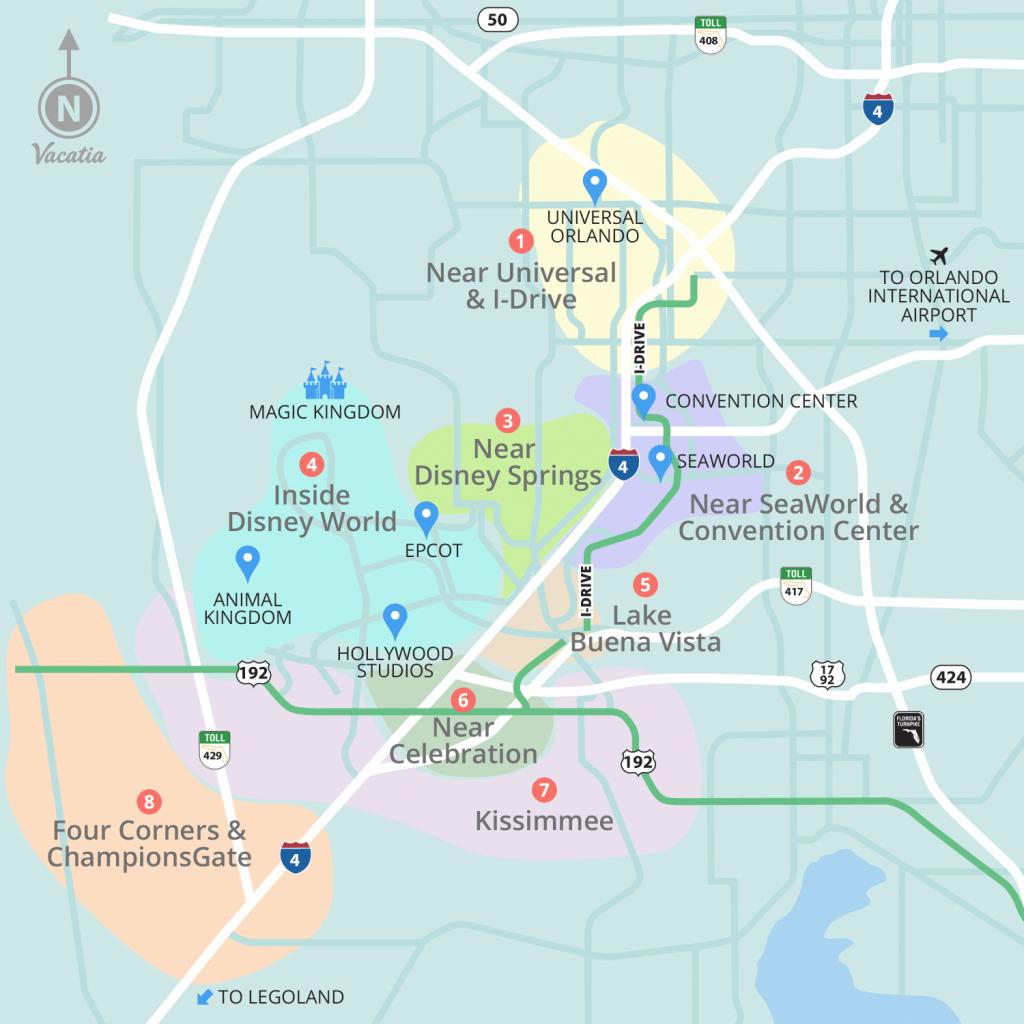 Resorts Near Disney World Orlando   Vacatia - Champions Gate Florida Map