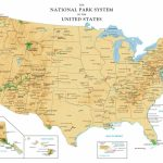 Result For National Park At Cdoovision Best Of Amazing Western   Printable Map Of Us National Parks