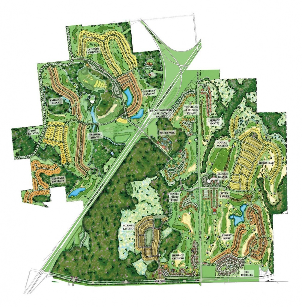 Reunion Resort Map #reunion_Resort_Map   Disney Vacation Trip - Map Of Reunion Resort Florida