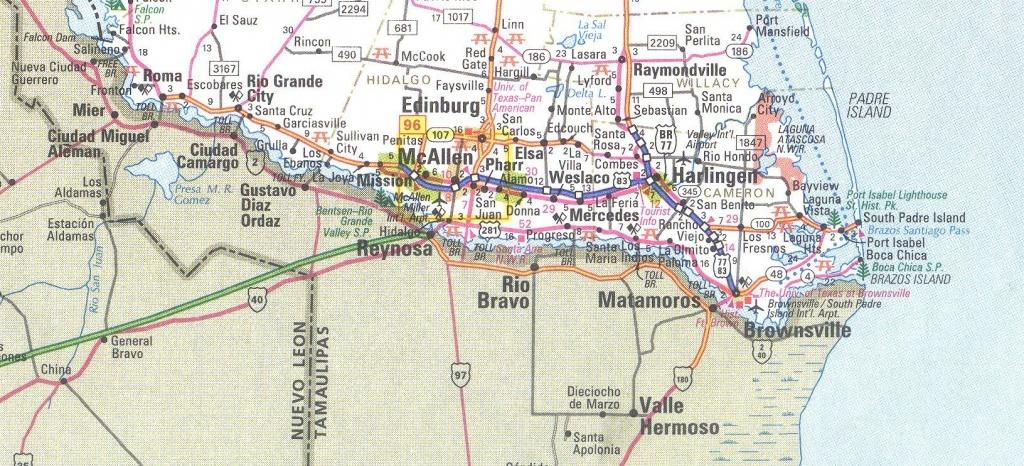 Rio Grand Valley Texas Map | Texas In 2019 | Rio Grande Valley - Map Of South Texas Coast