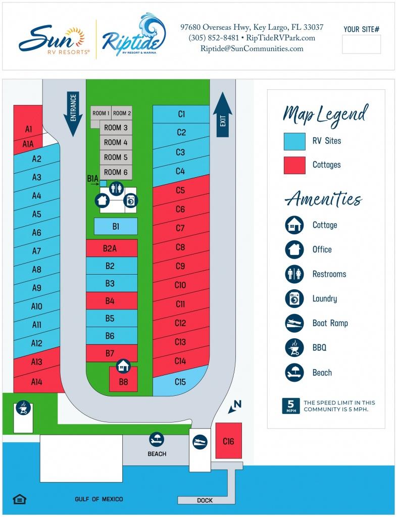 Riptide Rv Resort & Marina | Sun Communities, Inc. - Rv Dealers In Florida Map