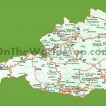 Road Map Of Austria   Printable Map Of Austria