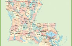 Road Map Of Louisiana With Cities   Printable Map Of Louisiana