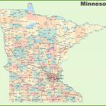 Road Map Of Minnesota With Cities   Printable Map Of Minnesota