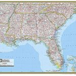 Road Map Of Southeastern United States Printable The Awesome Maps   Printable Map Of Southeast United States