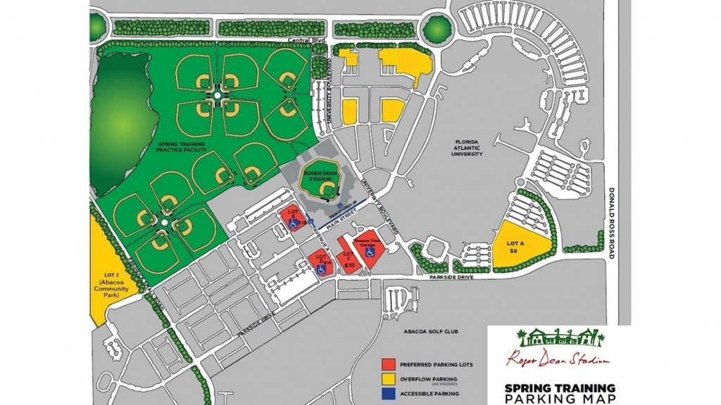 Roger Dean Chevrolet Stadium | Miami Marlins - Florida Spring Training Map