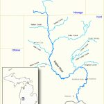 Rogue River (Michigan)   Wikipedia   Michigan River Map Printable