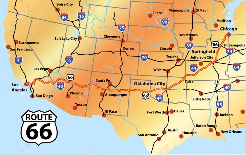 Route 66 Map (93+ Images In Collection) Page 1 - Printable Route 66 Map