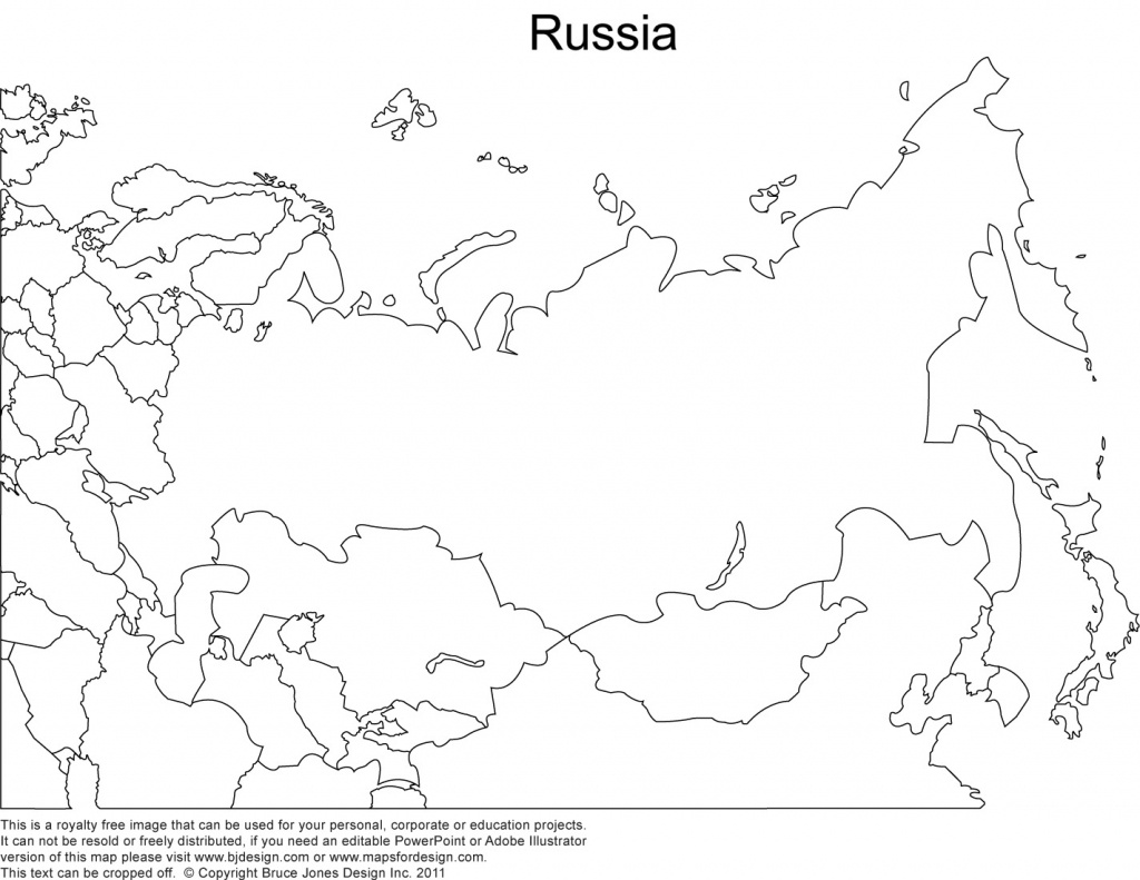 Russia Printable Copy Blank Outline Maps - Berkshireregion - Free Printable Outline Maps