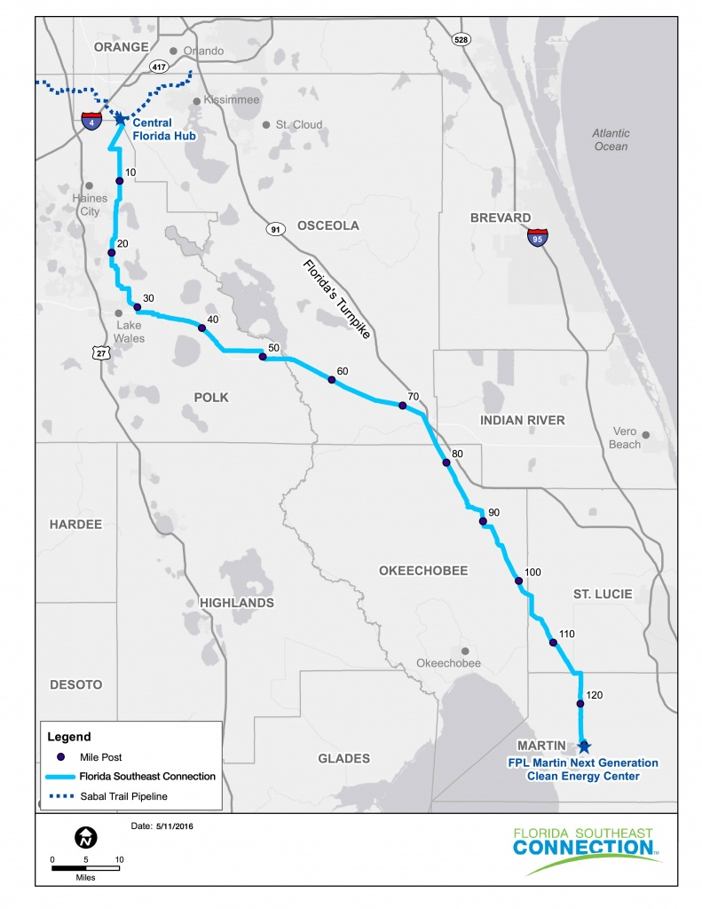 Sabal Trail, Florida Se Connection Gas Pipelines Up And Running - Florida Natural Gas Pipeline Map