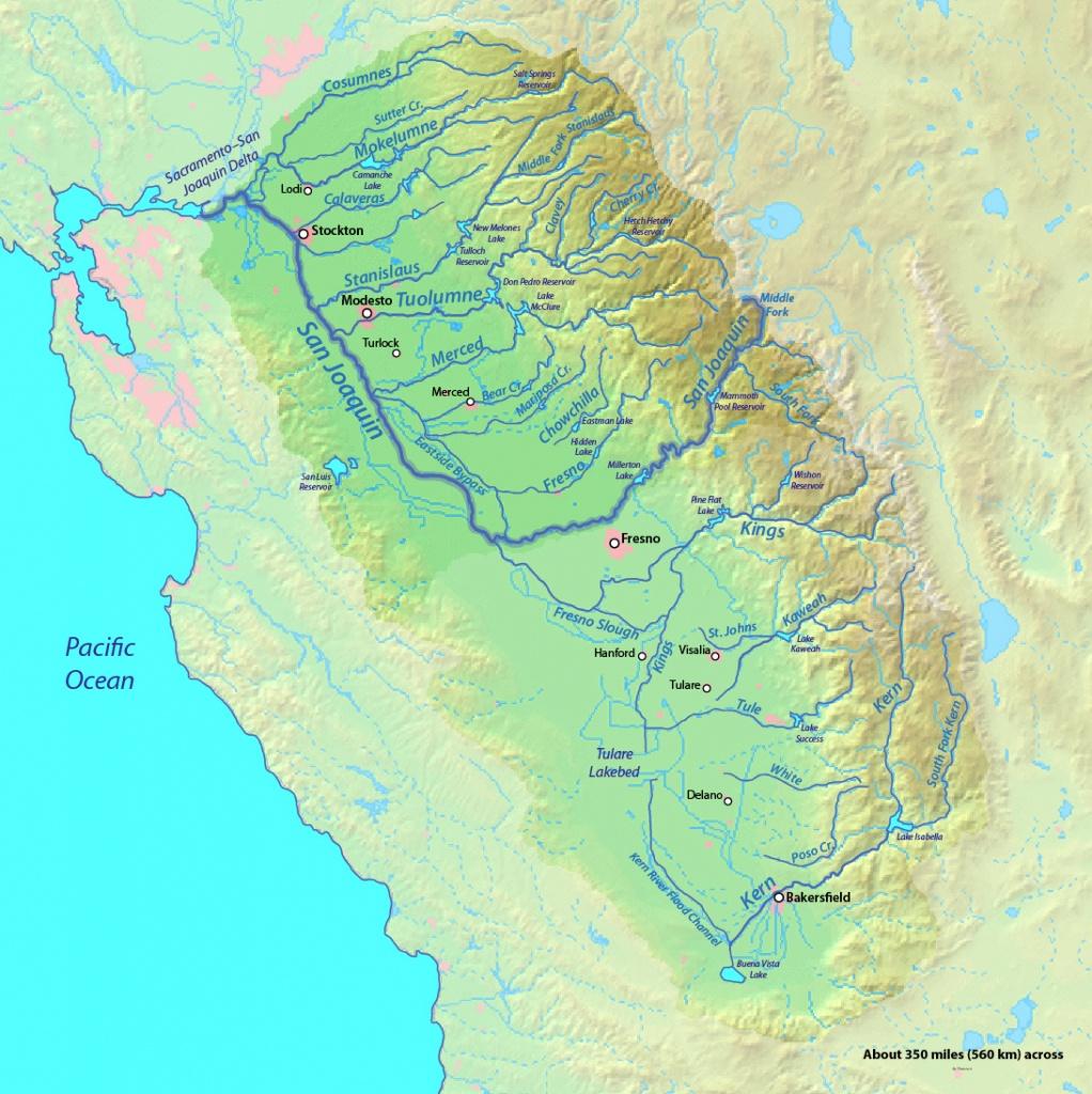 Sacramento And San Joaquin Rivers | American Rivers - Southern California Rivers Map