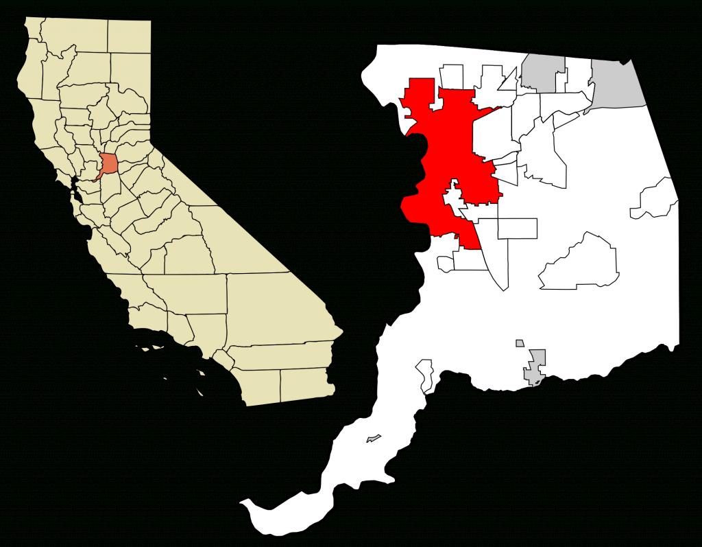 Sacramento, California - Wikipedia - Sacramento California Map
