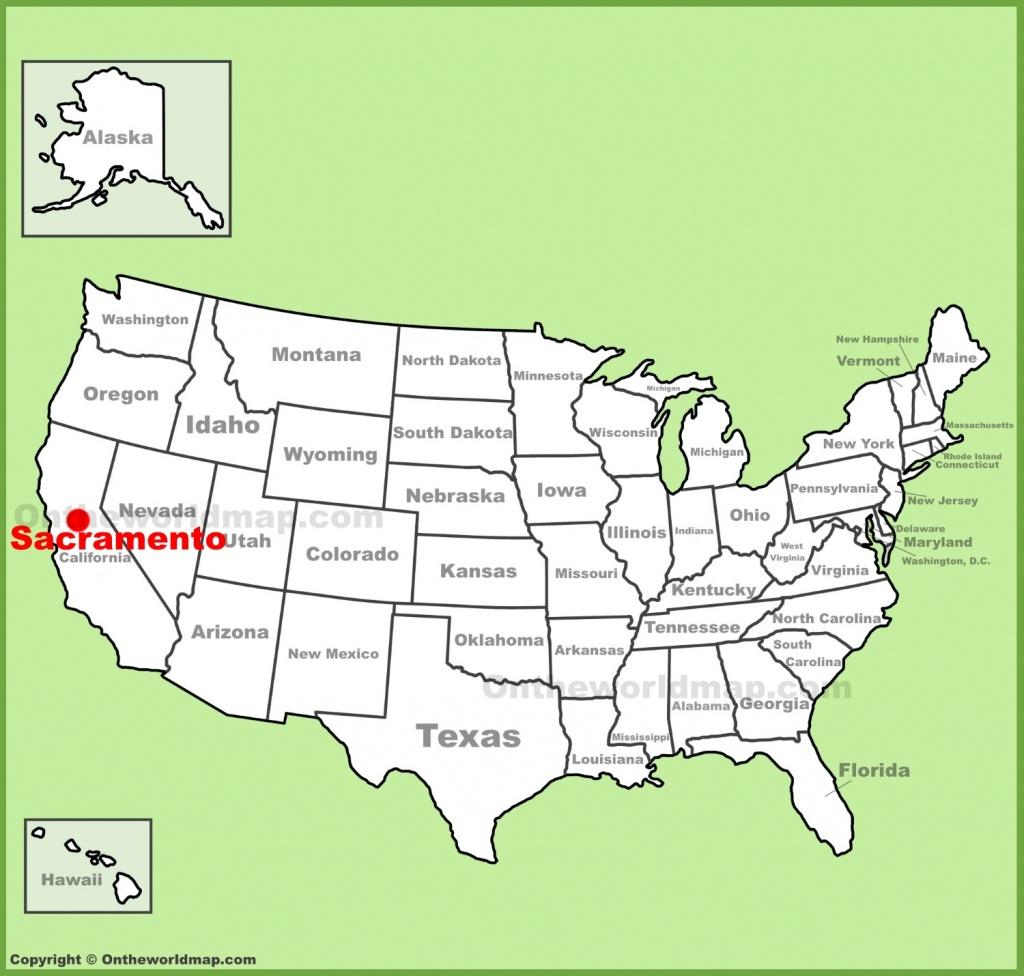 Sacramento Maps | California, U.s. | Maps Of Sacramento - Sacramento California Map