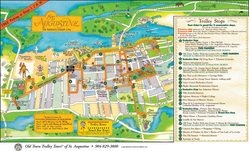 Saint Augustine - Florida - Local Maps - Find A Home - Where Is St Augustine Florida On The Map