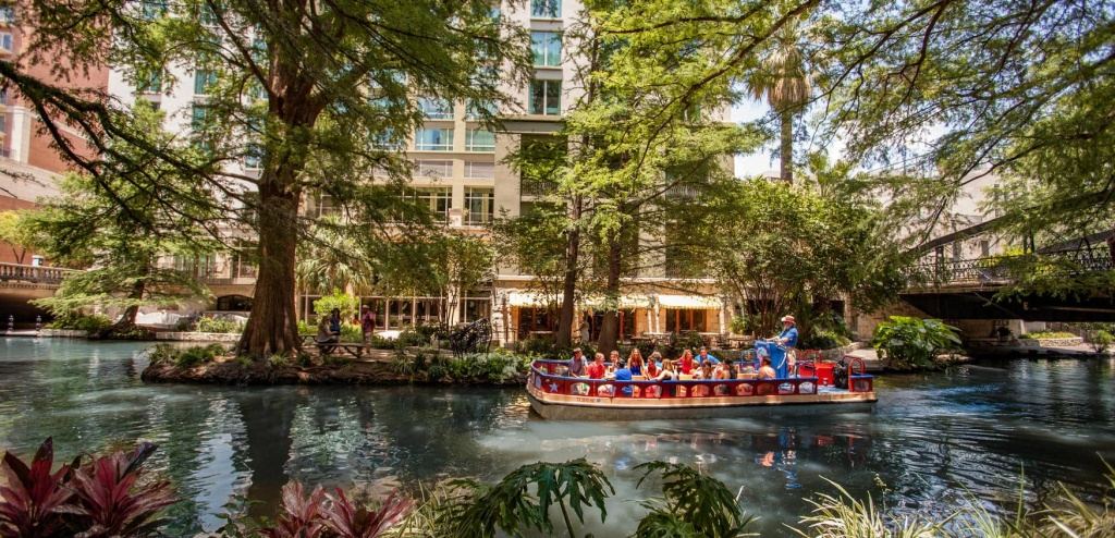 San Antonio Area Map | The Hotel Contessa On The Riverwalk - Map Of Hotels Near Riverwalk In San Antonio Texas