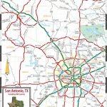 San Antonio Road Map   Road Map Of San Antonio Texas (Texas   Usa)   Detailed Map Of San Antonio Texas