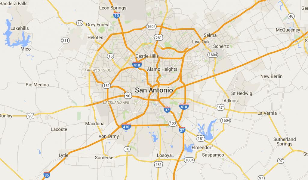 San Antonio, Tx Neighborhood Map - Best & Worst Neighborhoods - Map Of San Antonio Texas Area