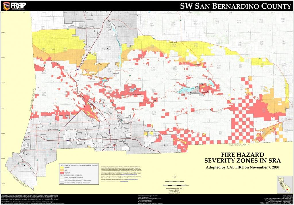 San Bernardino City Map And Travel Information | Download Free San - Map Of Cities In San Bernardino County California