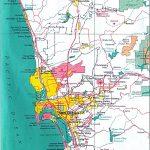 San Diego City Map   San Diego • Mappery   City Map Of San Diego California