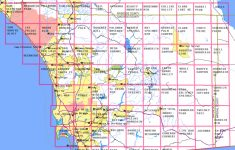 San Diego County Map With Cities And Travel Information   Download   Printable Map Of San Diego County