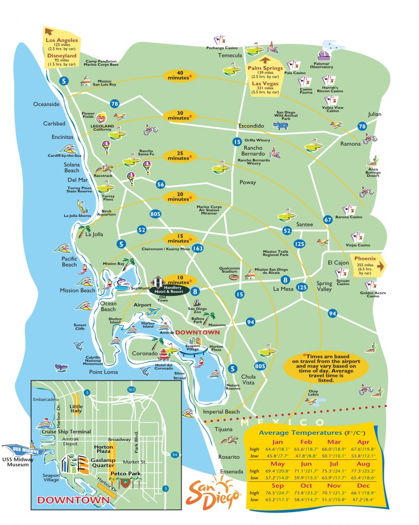 San-Diego-Printable-Maps - Printable Map Of San Diego