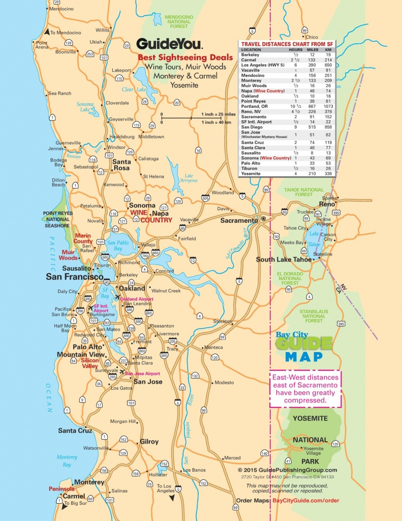 San Francisco Bay Area Road Map - Printable Map Of San Francisco Bay Area