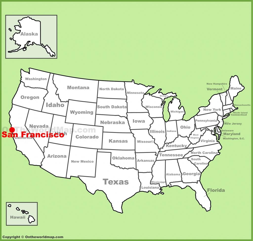 San Francisco Maps | California, U.s. | Maps Of San Francisco - Where Is San Francisco California On Map