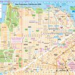 San Francisco Street Map   Printable Map Of San Francisco