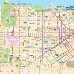 San Francisco Tourist Map   Printable Map Of San Francisco