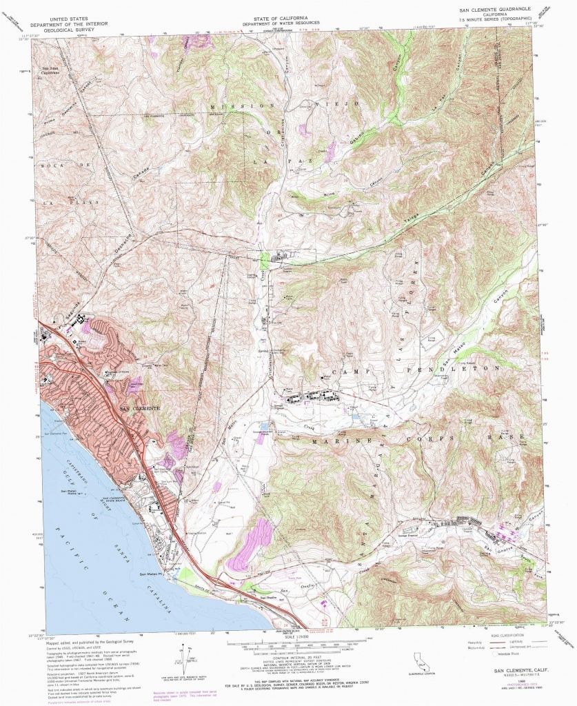 San Juan Capistrano California Map Map San Clemente California Klipy - San Clemente California Map