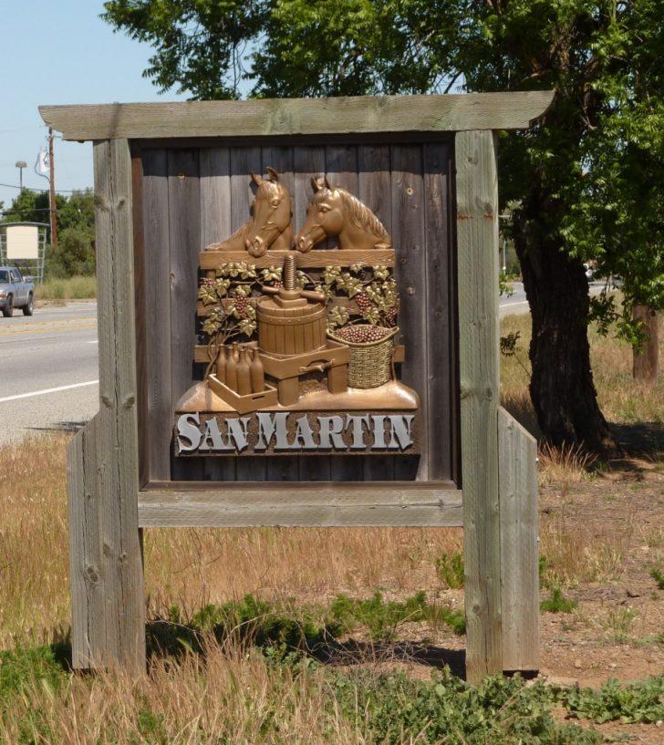 San Martin California Map