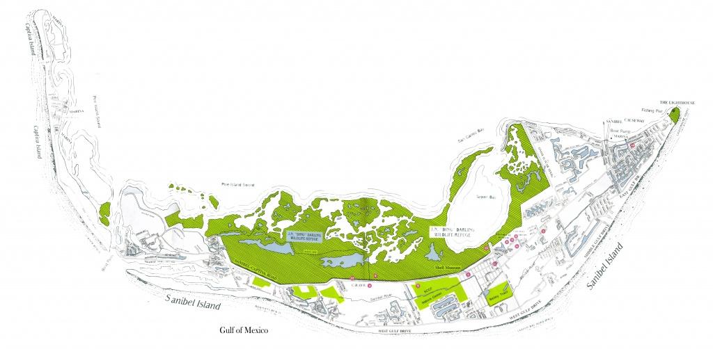 Sanibel And Captiva Island Maps, North Captiva Island Map - North Captiva Island Florida Map