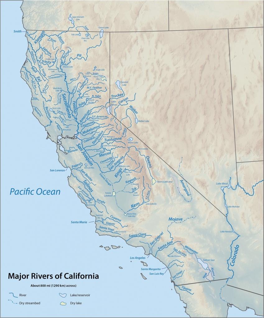 Santa Barbara On California Map   Secretmuseum - Santa Barbara California Map