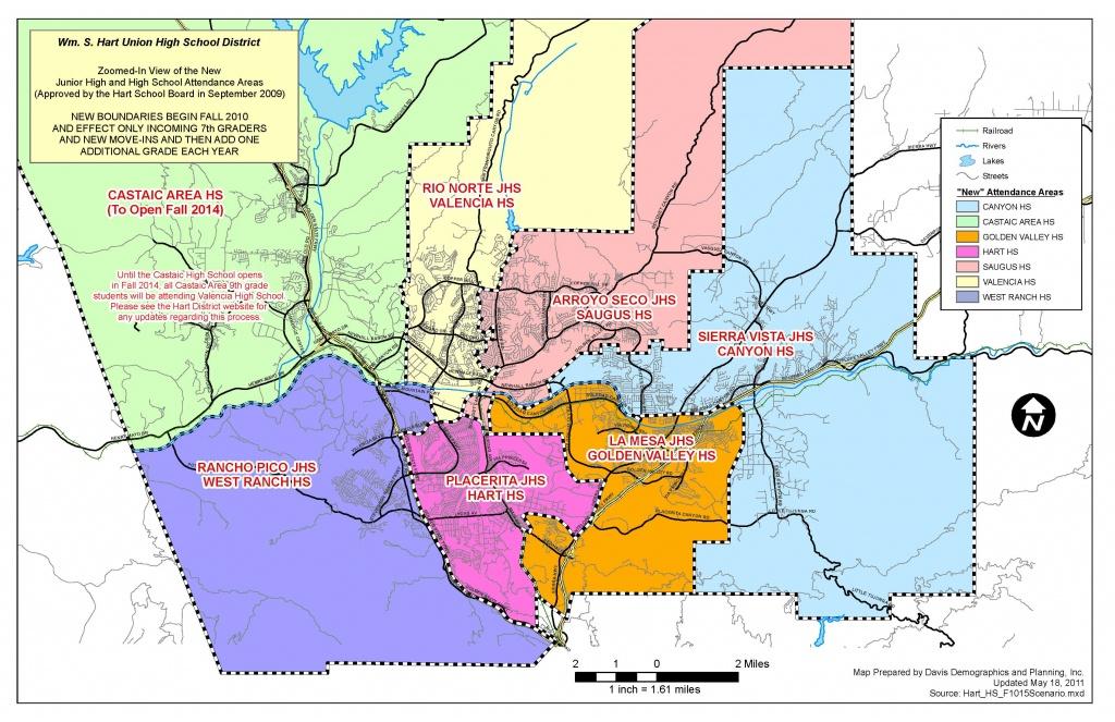 Santa Clarita School Districts - Santa Clarita Valley Ca - Schools - Valencia California Map